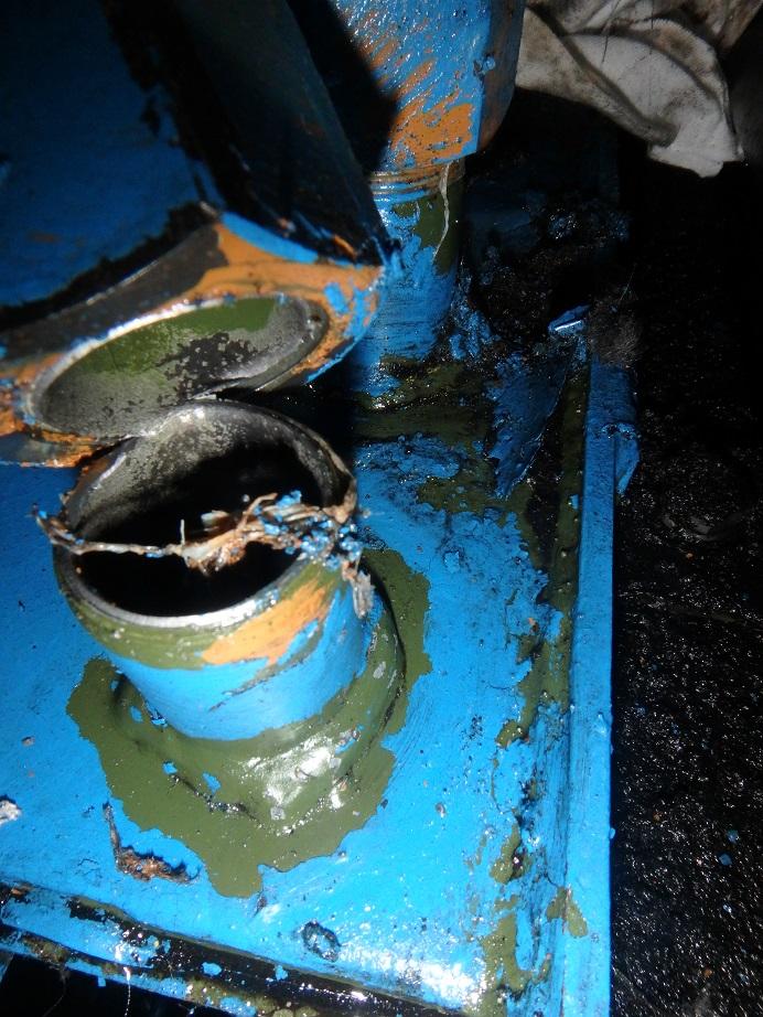 油圧配管補修2