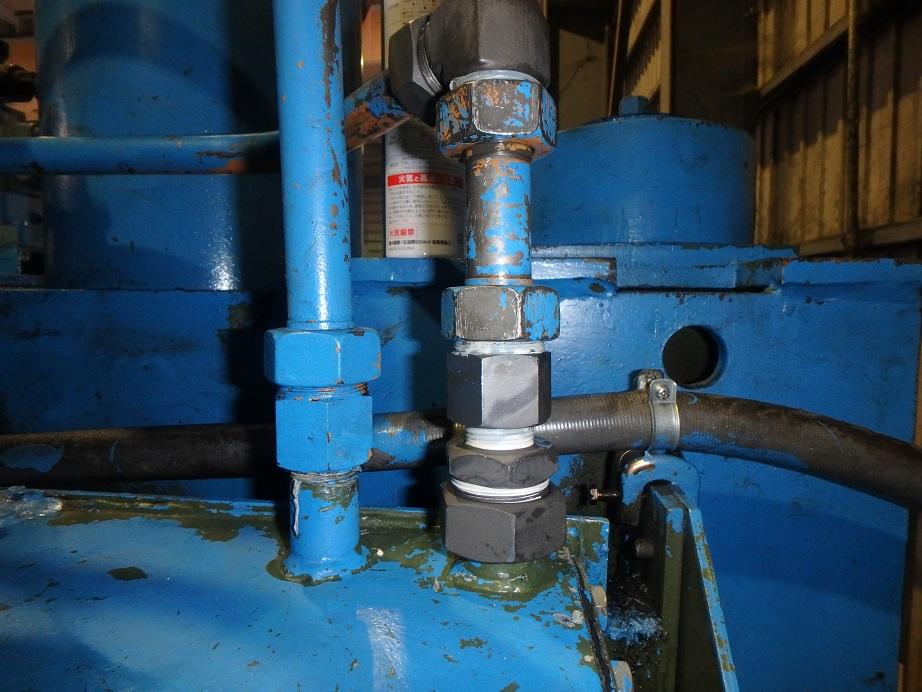 油圧配管補修3